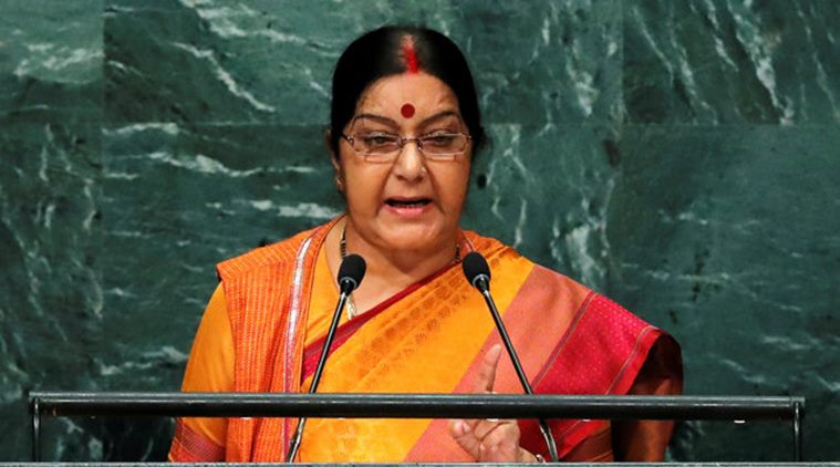 sushma swaraj speech in un