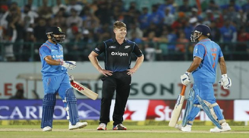 India vs New zealand Odi Series 2016
