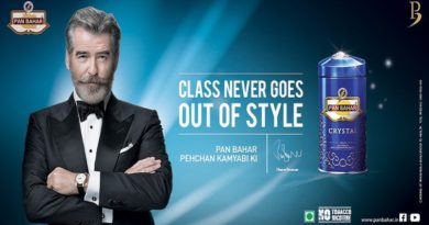 Pierce Brosnan pan masala ad