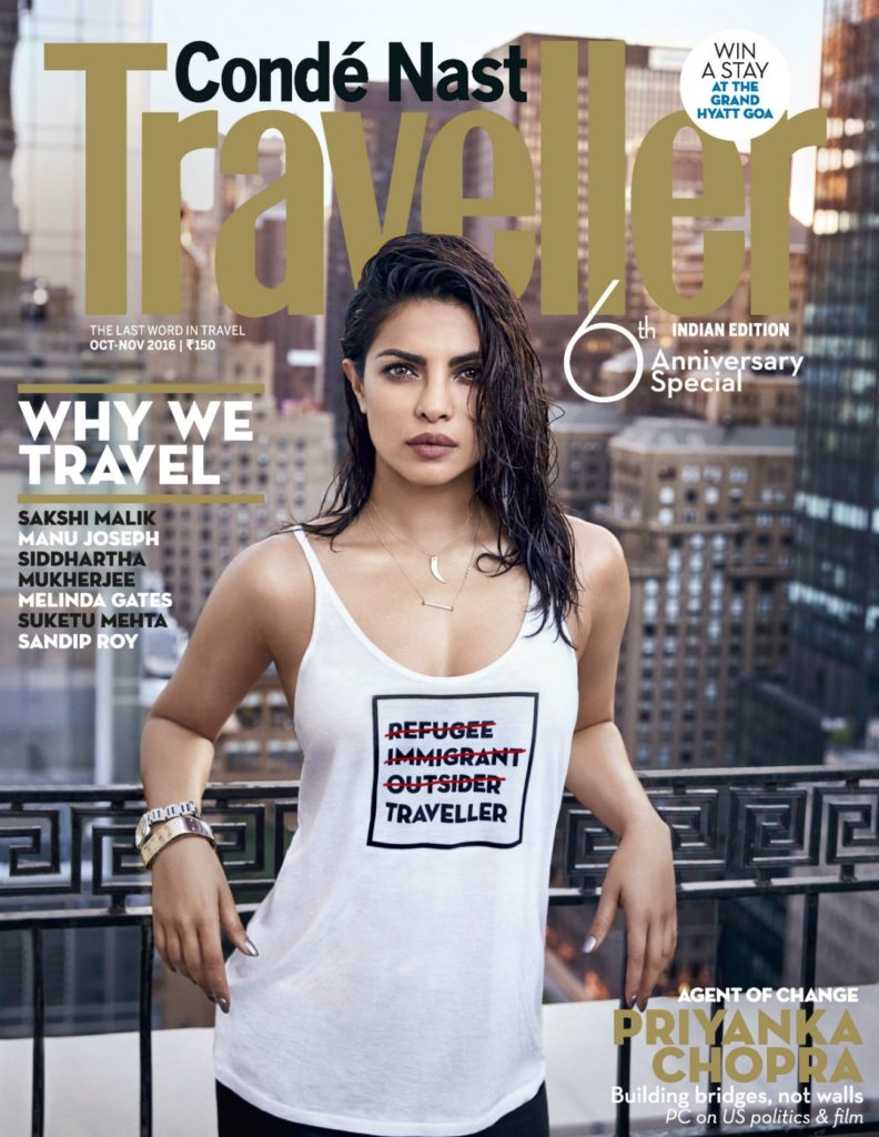 Priyanka T shirt message,