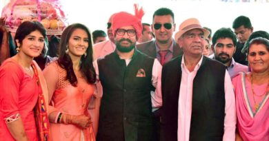 Aamir Khan attends Geeta Phogat's wedding