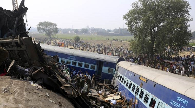 patna indore express accident