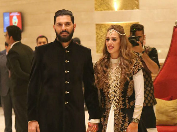 yuvraj singh and hazel keech sangeet ceremony