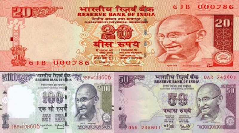 100,50,20-rupees