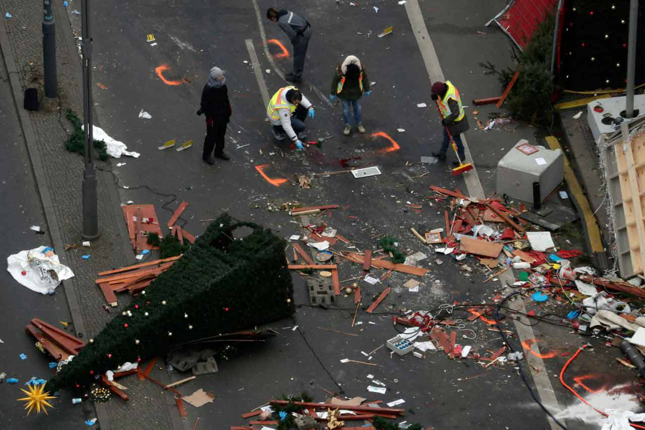 Truck attack at Berlin Christmas market
