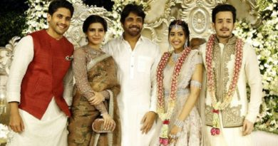 nagarjuna's-son-akhil-gets-engaged-to-shriya-bhupal