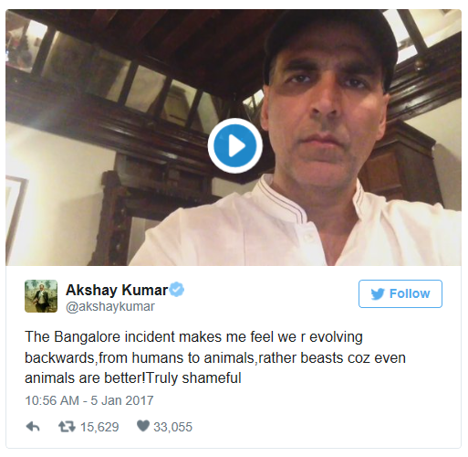 akshay video in social media